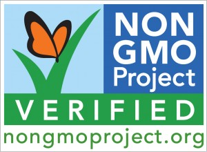 "The ""Non-GMO Project Verified"" seal"